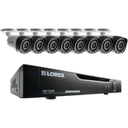 Lorex 16-channel 720p HD Security System With Eight 720p HD Cameras