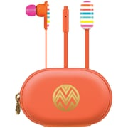 The Macbeth Collection Earbuds With Carrying Case (candie Stripe)
