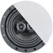"""Architech 6.5"""" 2-way Premium Series Single-point Stereo Frameless In-ceiling Loudspeaker"""