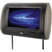 "Power Acoustik Hdvd_71hd 7"" Universal Headrest Monitor With Mhl Mobilelink & Interchangeable Skins (with Dvd Player)"