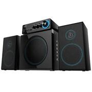 Eagle Tech Arion Legacy 4 Piece Deep Sonar 2.1 Desktop PC Speakers Set with Subwoofer