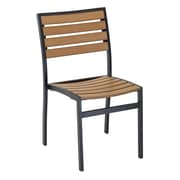 Florida Seating Dining Chair; Black Powder Coat