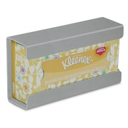 TrippNT Kleenex Small Box Holder; Silver Metallic