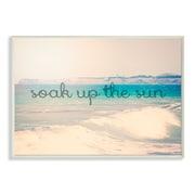 Stupell Industries Soak up the Sun Landscape Inspirational Graphic Art