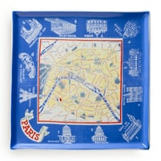 Rosanna Voyage Paris Map Square Serving Tray