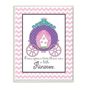 Stupell Industries The Kids Room Purple Princess Carriage Graphic Art Wall Plaque