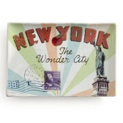 Rosanna Voyage New York Rectangular Serving Tray