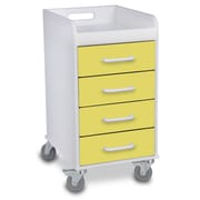 TrippNT 4 Drawer File Storage Cart; Bright Idea Yellow