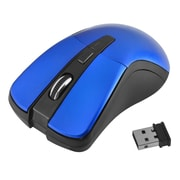 Insten® 1991142 2.4G Cordless 4 Button Wireless Optical Mouse For Computer Laptop Desktop PC Blue