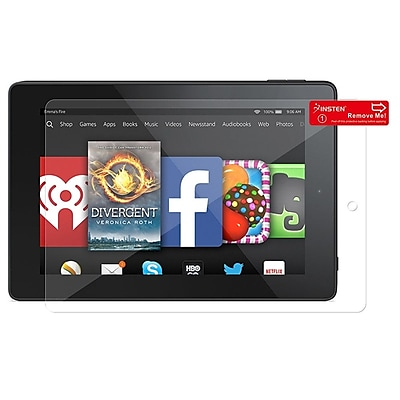 Insten Clear LCD Screen Protector Film Cover for Amazon Kindle Fire HD 7 2014 1991076