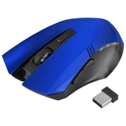 Insten® 1991135 2.4G Wireless Optical 6D Button Game Mouse for Computer PC Laptop Blue