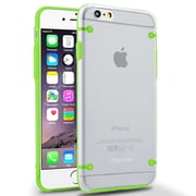 Insten® Gel Case for Use with Apple iPhone 6, Clear/Green (1963259)