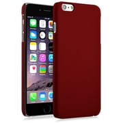 Insten® Hard Rubberized Cover Case for Apple iPhone 6 Plus Red (1974210)
