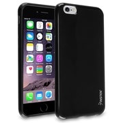 Insten® Jelly Rubber Case for Apple iPhone 6/6S Plus, Black (1933476)