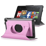 "Insten® 1980694 Flip Leather Fabric Case with Stand for Amazon Kindle Fire HD 6"" (2014) Pink"