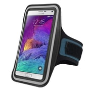 Insten® Handsfree Sports Armband Case for Apple iPhone 6/6S Plus, Samsung Galaxy Note 3 and 4 Black (2037120)