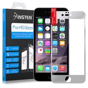 Insten® Tempered Glass LCD Screen Protector Film Cover for Apple iPhone 6/6S Plus, Clear Silver (1990905)