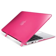"Insten® Hard Rubber Coated Case for Apple Macbook Air 11"" Hot Pink (1994503)"