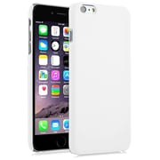 Insten® Hard Rubber Coated Case for Apple iPhone 6 Plus, White (1974214)