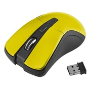 Insten® 1991140 2.4G Wireless 4-Key Optical Mouse for Computer Laptop Desktop PC Yellow