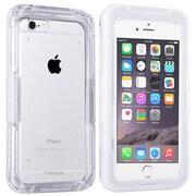 Insten® Hard Plastic Waterproof Case Lanyard for Apple iPhone 6 Clear/White (2062484)