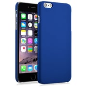 Insten® Hard Rubberized Cover Case For Apple iPhone 6 Plus Blue (1974213)