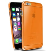 Insten® Hard Crystal Case for Use with Apple iPhone 6 Plus, Orange (1933475)