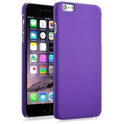 Insten® Hard Rubber Coated Cover Case for Apple iPhone 6 Plus, Purple (1974211)