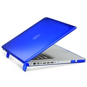 "Insten® Hard Rubber Coated Cover Case for Apple Macbook Pro 15"" Blue (1991119)"