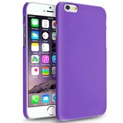 Insten® Hard Rubberized Cover Case for Apple iPhone 6 Purple (1927362)