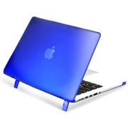 "Insten® Hard Rubber Case for Apple Macbook Pro with Retina Display 15"" Blue (1991124)"