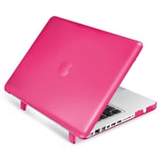"Insten® Hard Rubberized Cover Case for Apple Macbook Pro 13"", Hot Pink (1994501)"