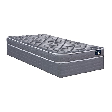 Serta Barnaby Firm Mattress and Boxspring Set, Twin