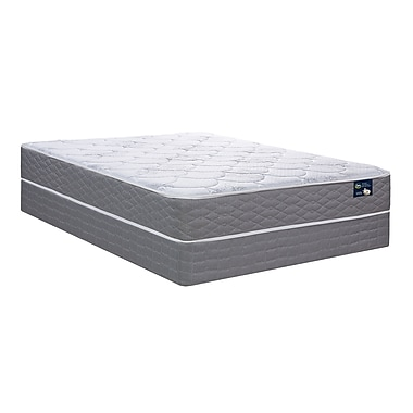 Serta Cantrell Firm Tight Top Mattress and Boxspring Set, Queen
