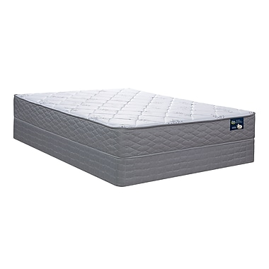 Serta Ellingham Plush Tight Top Mattress and Boxspring Set, King