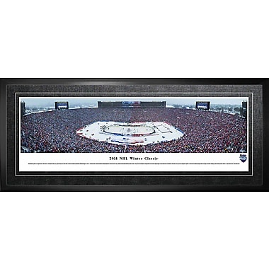 Toronto Maple Leafs Framed, Panorama 2014 Winter Classic, 21