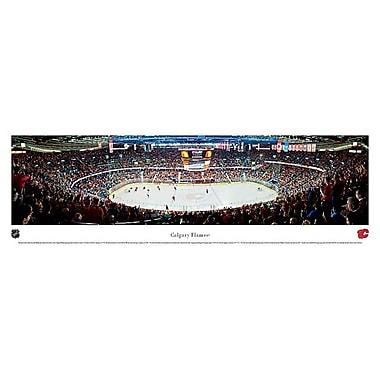 Calgary Flames Panorama Plaque, Arena, 21