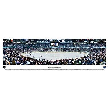 Edmonton Oilers Panorama Plaque, Arena, 21