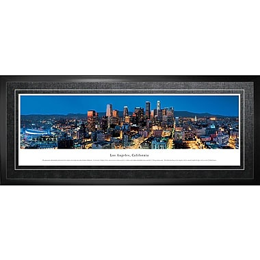 Los Angeles, CA Framed, Panorama Night, 21