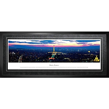 Paris, France Framed, Panorama Night, 21
