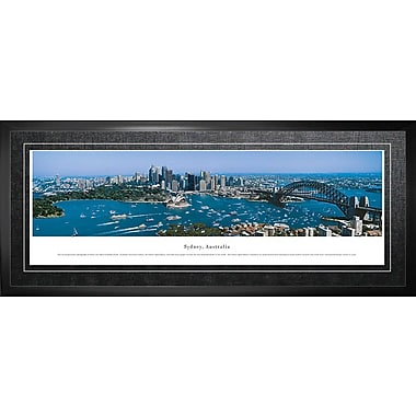Sydney Australia Framed, Panorama Day, 21