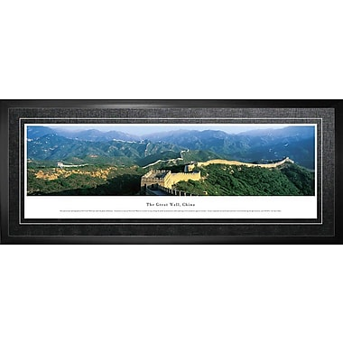 Great Wall Of China Framed, Panorama Day, 21