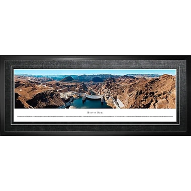 Hoover Dam Framed, Panorama Downstream, 21