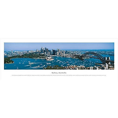 Sydney Australia Panorama Plaque, Day, 13.5