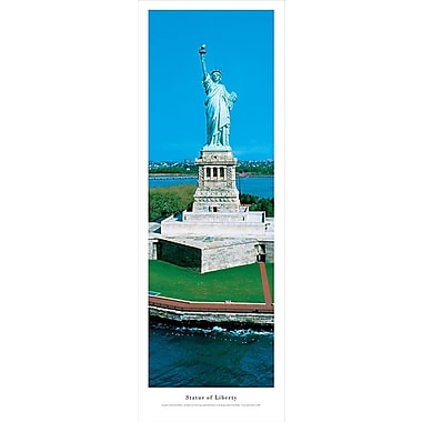 Statue Of Liberty Panorama Plaque, Day, 13.5