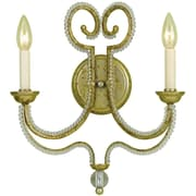 AF Lighting Camerson Two-Light Wall Sconce (67392W)