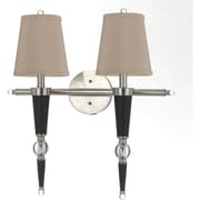 AF Lighting Hollace Two-Light Wall Sconce (82362W)