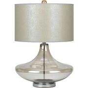AF Lighting Skinny Dip Glass Table Lamp, Champagne (8901TL)