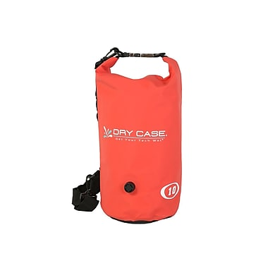 DryCase Waterproof Drybag, Red