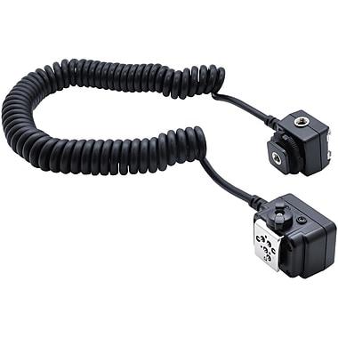 Xit Off – Câble d'extension avec griffe porte-accessoire pour appareil photo AF TTL Nikon, griffe porte-accessoire